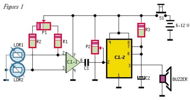 Detector de movimiento con ldrs - Sensores de movimiento con alarma ...