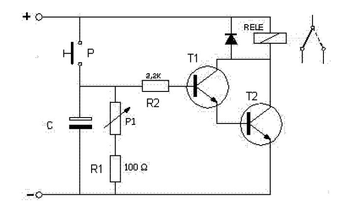 Circuito Temporizador : Circuito electronico temporizador variable taller de