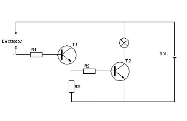 detector de humedad con bc547