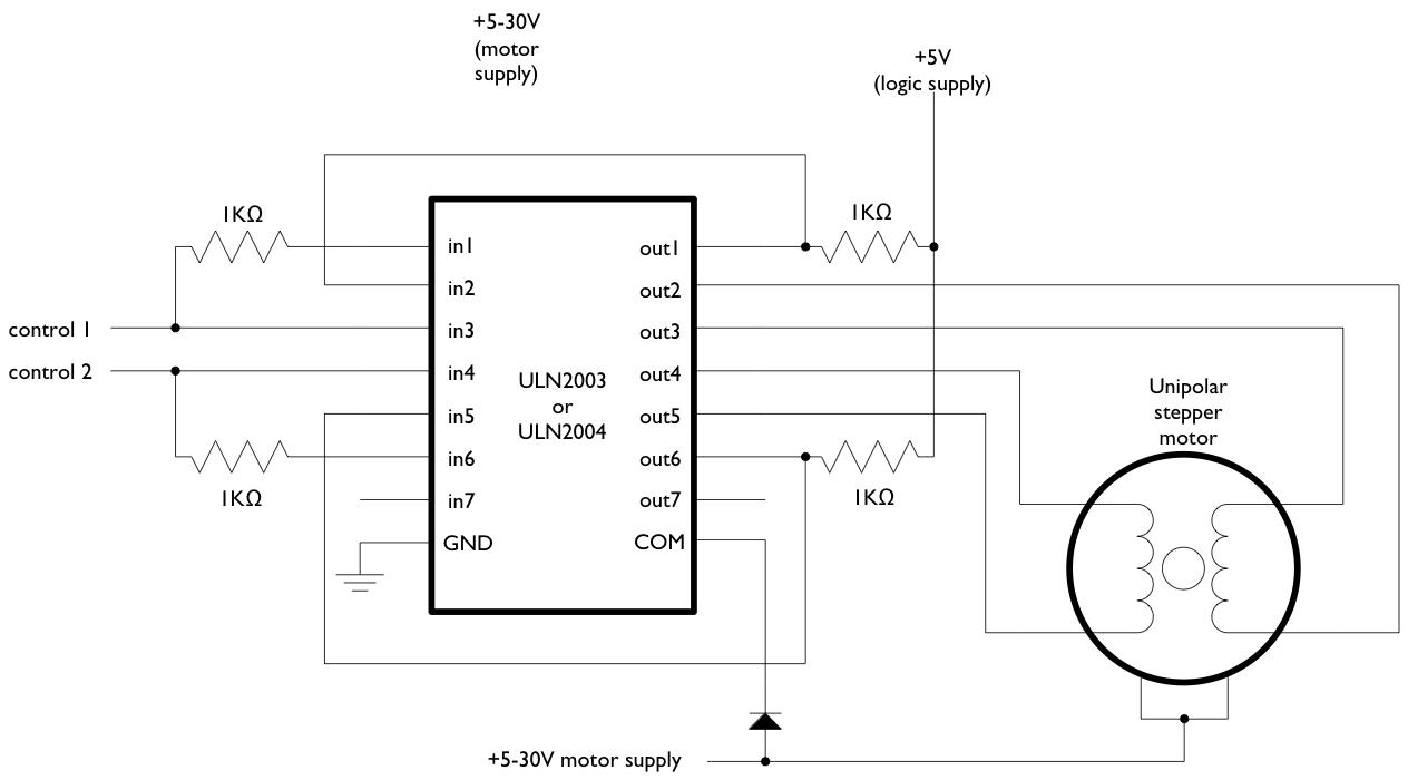 Conexionado Control Motor Paso A Paso A Arduino Www