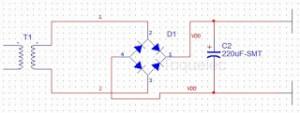 circuito fuente alimentación