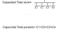 formulas calculo condensadores